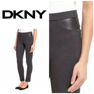 Charcoal Ponte Pants | DKNY | XXL | Sz. 16
